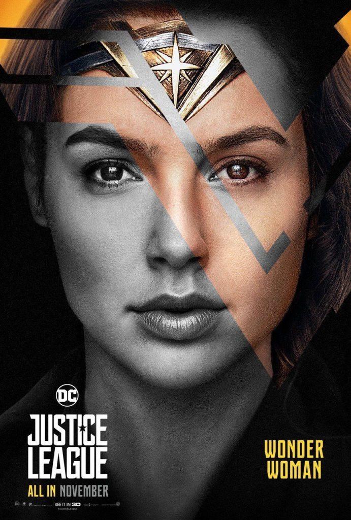 """Poster for the movie """"Liga da Justiça: Parte 1"""""""
