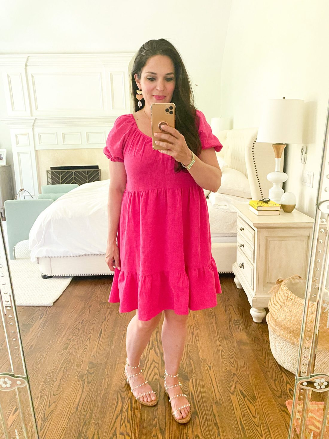 Snatch one or maybe two of these darling summer dress from Target that are mostly under $50 and so cute and fancy! || Darling Darleen Top  CT Lifestyle Blogger