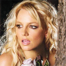 Britney Spears Looking Away