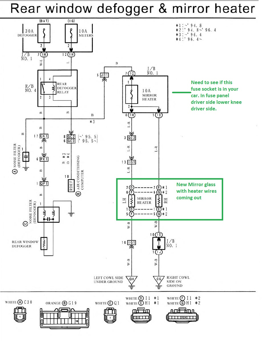 2006 Ford F 150 Heated Mirror Wiring Diagram Free Download 1989 Probe Rh Ogmconsulting Co