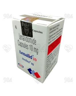 Lenalid 10mg 30 Capsules, Natco