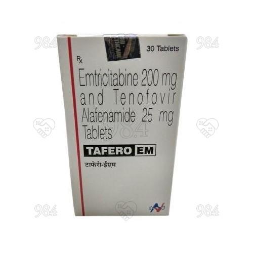 984degree_TaferoEM_EmtricitabineTenofovir-disoproxil-fumarate_200mg_30s