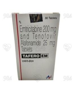 Tafero EM 200/25 30 Tablets, Hetero