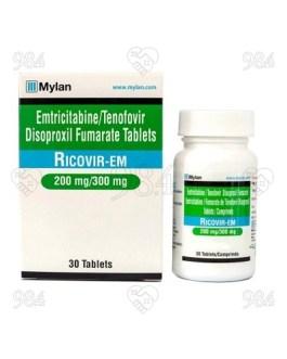 Ricovir EM 30s Tablets, Mylan
