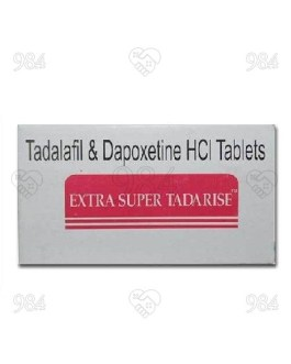 Extra Super Tadarise 100 Tablets, Sunrise