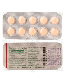 Febutaz 40mg 100 Tablets, Sun