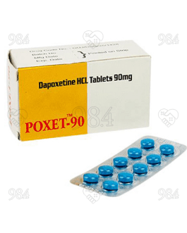 Poxet 90mg 100 Tablet, Sunrise