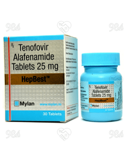 Hepbest 25mg 30 Tablet, Mylan