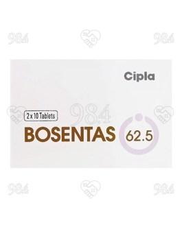 Bosentas 62.5mg 20 Tablet, Cipla