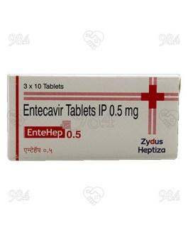 Entehep 0.5mg 30s Tablet,  Zydus Cadila
