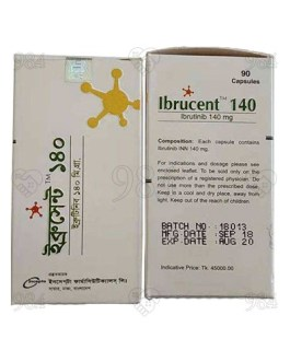 Ibrucent 140mg 90s Capsules, Incepta