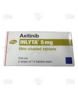 Inlyta 5mg 14sx2 Tablets, Pfizer