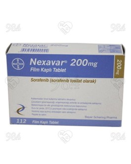 Nexavar 200mg 112s Tablets, Bayer
