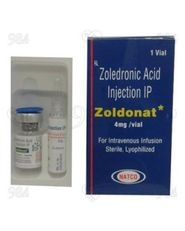 Zoldonat 4mg Injection, Natco
