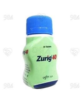 Zurig 40mg 30 Tablet, Zydus