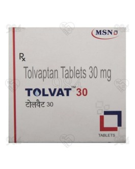 Tolvat 15mg 40 Tablets (4×10), Cipla