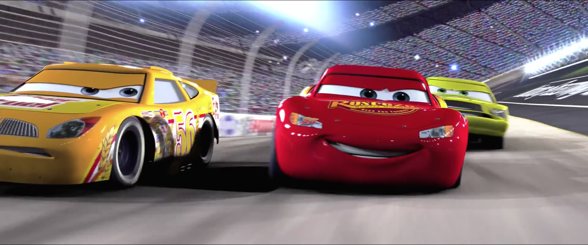 Pixar Releases First Trailer For Cars 3