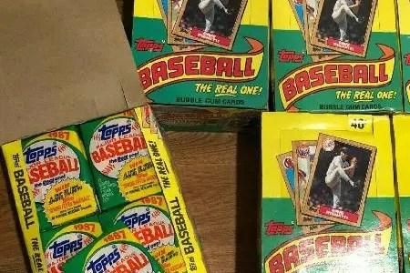 Baseball card junk wax era