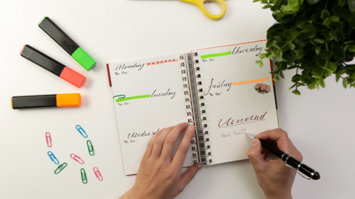 Setting Up a Planner: Set Up a Simple Blogging Planner