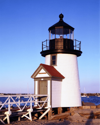 Lighthouse in Block Island