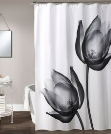 Beautiful Black And White Shower Curtains Design Ideas 46