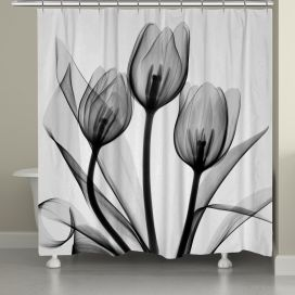 Beautiful Black And White Shower Curtains Design Ideas 48