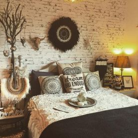Comfy Boho Chic Style Bedroom Design Ideas 22