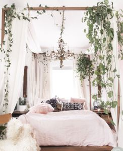 Comfy Boho Chic Style Bedroom Design Ideas 58