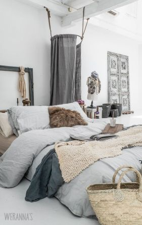 Comfy Boho Chic Style Bedroom Design Ideas 66