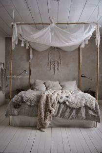 Comfy Boho Chic Style Bedroom Design Ideas 85
