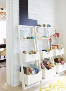 Creative Toy Storage Ideas for Small Spaces 43