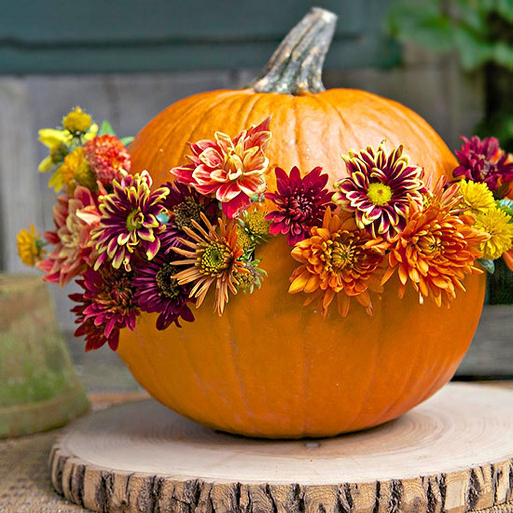 Easy But Inspiring Outdoor Fall Decoration Ideas 96