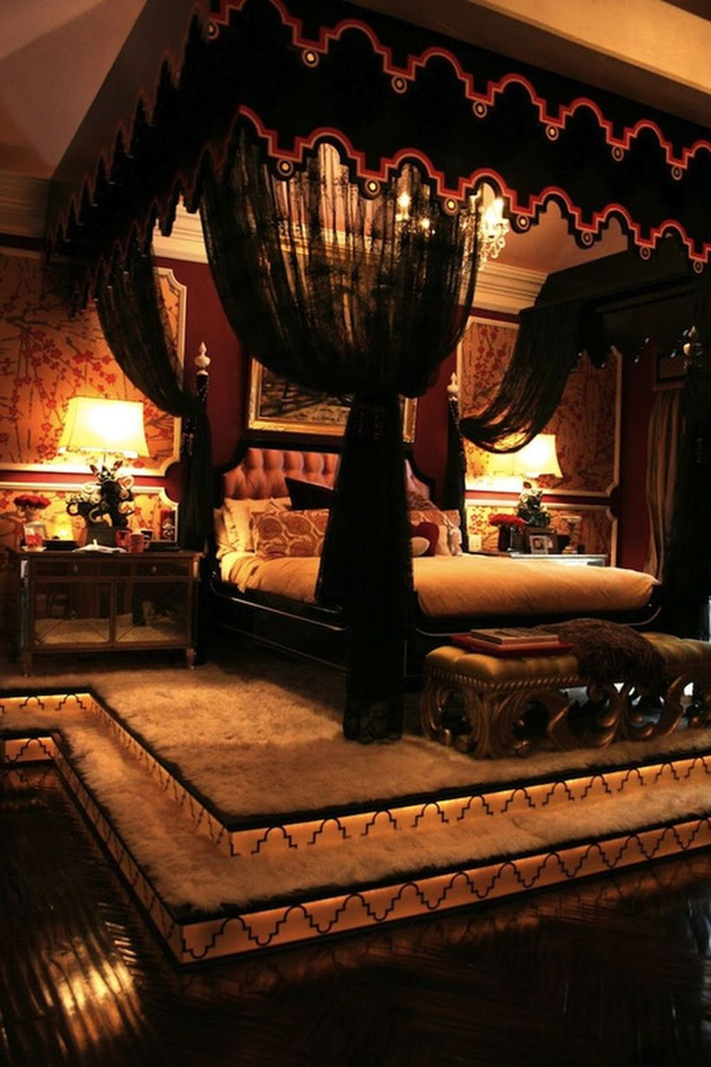 Inexpensive Romantic Bedroom Design Ideas You Will Totally Love 30