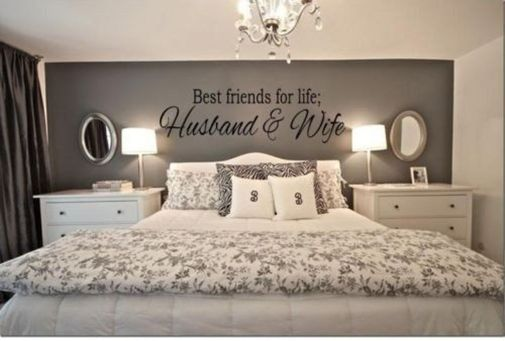 Inexpensive Romantic Bedroom Design Ideas You Will Totally Love 53