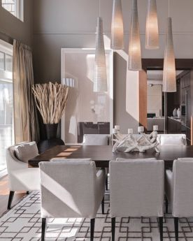 Inspiring Contemporary Style Decor Ideas For Dining Room 06