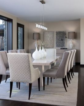 Inspiring Contemporary Style Decor Ideas For Dining Room 09