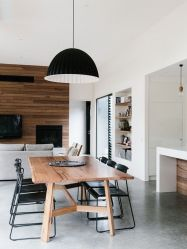 Inspiring Contemporary Style Decor Ideas For Dining Room 58