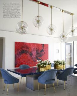Inspiring Contemporary Style Decor Ideas For Dining Room 62