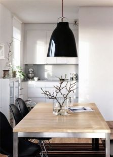 Inspiring Contemporary Style Decor Ideas For Dining Room 73