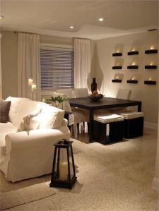 Inspiring Contemporary Style Decor Ideas For Dining Room 84