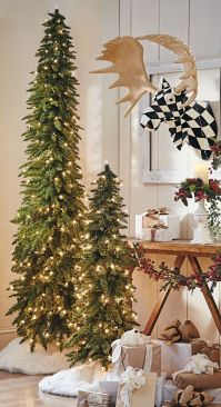 Space Saving Christmas Tree Ideas Suitable For Small Rooms 24