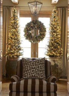 Space Saving Christmas Tree Ideas Suitable For Small Rooms 37