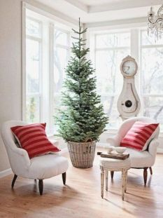 Space Saving Christmas Tree Ideas Suitable For Small Rooms 48