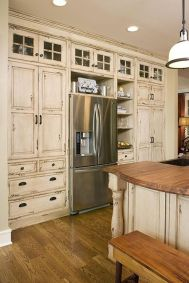 Beautiful Farmhouse Style Rustic Kitchen Cabinet Decoration Ideas 33