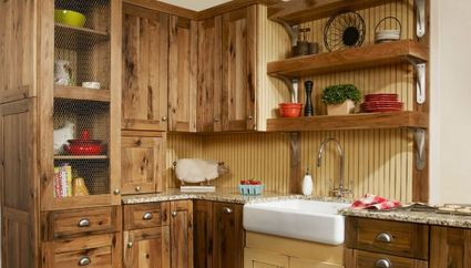 Beautiful Farmhouse Style Rustic Kitchen Cabinet Decoration Ideas 46