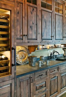 Beautiful Farmhouse Style Rustic Kitchen Cabinet Decoration Ideas 50