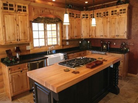 Beautiful Farmhouse Style Rustic Kitchen Cabinet Decoration Ideas 53