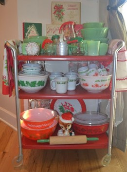 Beautiful Red Themed Kitchen Design Ideas For Christmas 28
