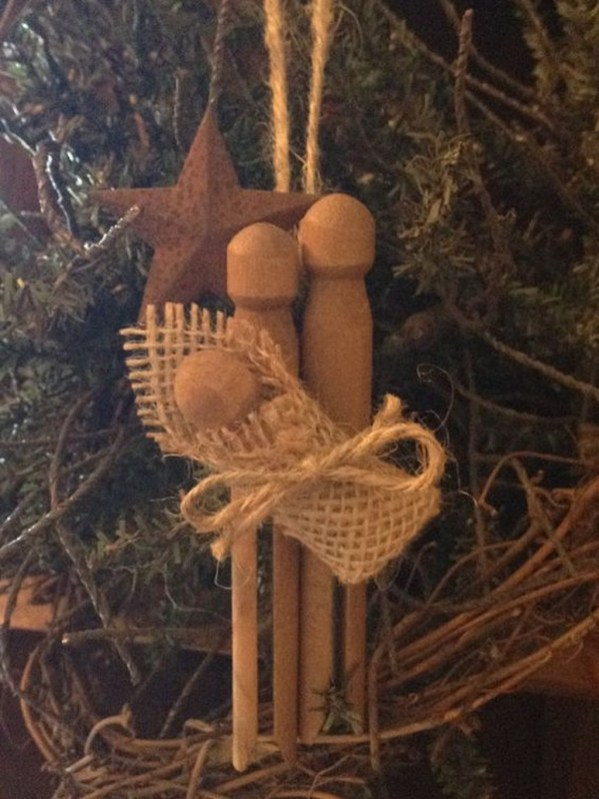 Cute And Creative Homemade Christmas Ornaments Ideas You Should Try 02