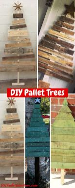 Easy And Creative DIY Christmas Tree Design Ideas You Can Try As Alternatives 41